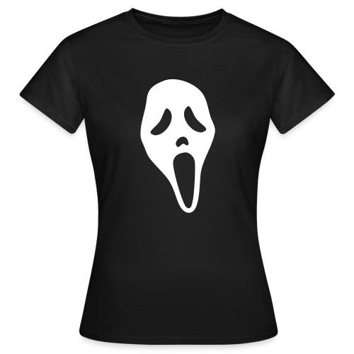 Scream (white) - Women's T-Shirt