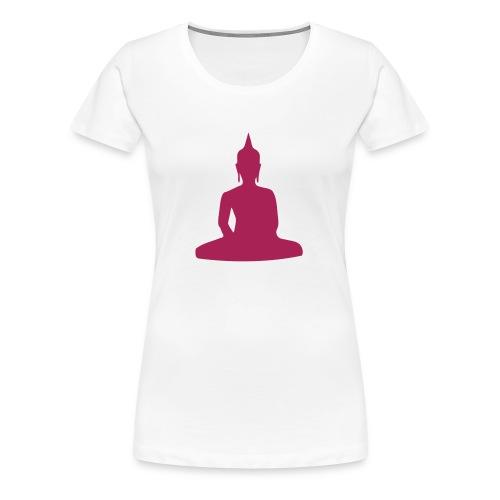 Frauen Girlieshirt klassisch - Budda - Frauen Premium T-Shirt