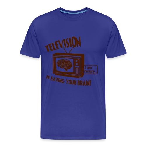 Television T-shirt - Men's Premium T-Shirt