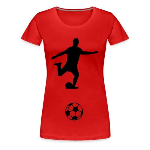 foot - T-shirt Premium Femme