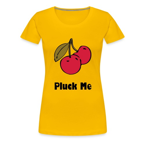 Cheeky Cherry t-shirt - Women's Premium T-Shirt