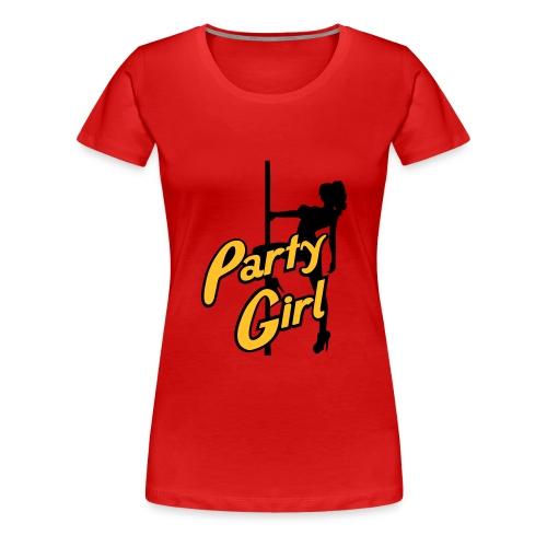Party Girl - Frauen Premium T-Shirt