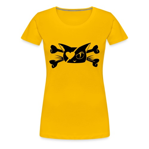 Pirate Kitty - Women's Premium T-Shirt