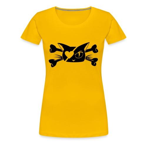 Pirate Kitty - Women's Premium T-Shirt