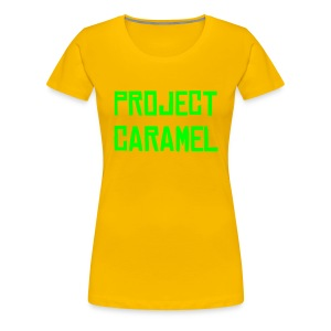 Project Caramel Tee YG - Women's Premium T-Shirt