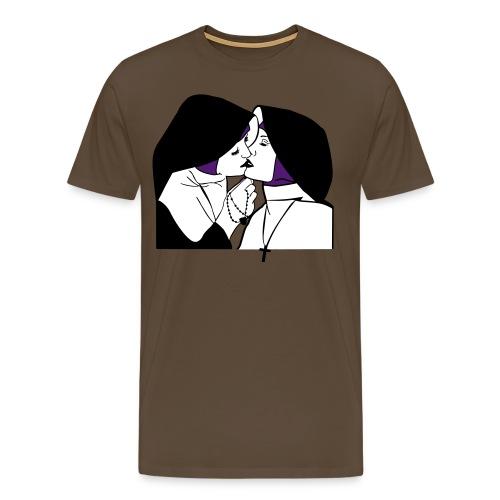 NONNEN PRIVAT - Männer Premium T-Shirt