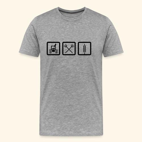 Landwirtschaft - Männer Premium T-Shirt
