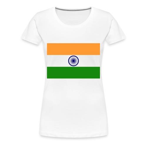 Indian Flag - Women's Premium T-Shirt