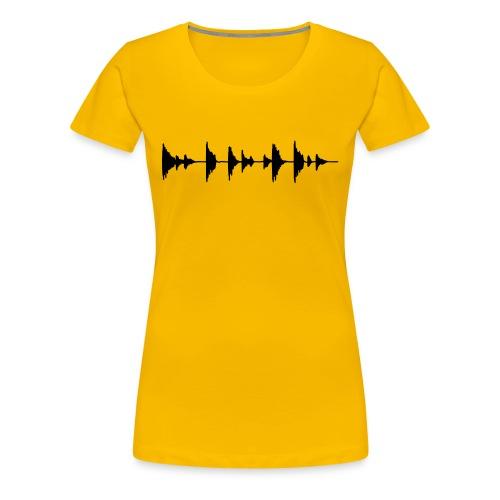 See the Sound - Women's Premium T-Shirt