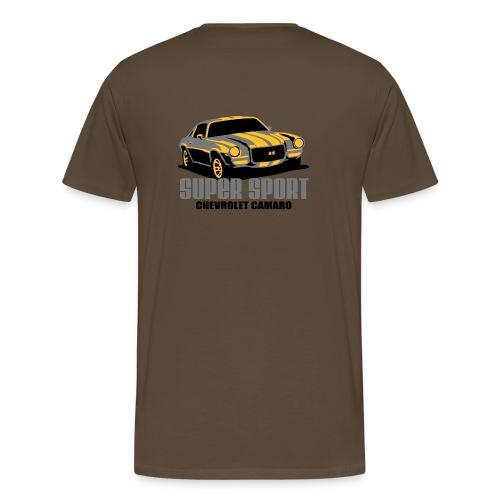 Super Sport T-shrt Herre Basis - Herre premium T-shirt
