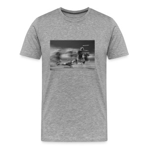 Tackle Shirt - plain back - Men's Premium T-Shirt