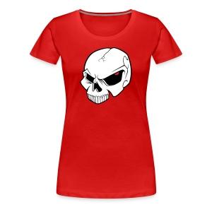 EvilSkull Girl - T-shirt Premium Femme