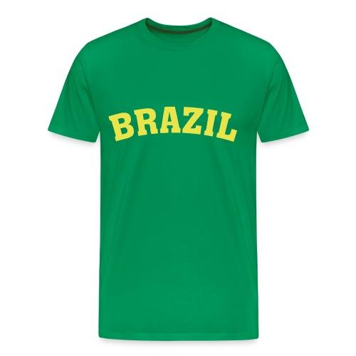 brazil tshirt - Men's Premium T-Shirt