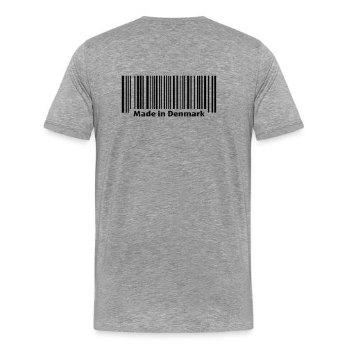 Stregkode - Herre premium T-shirt