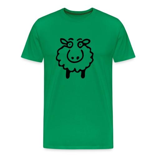 Men's T-shurt SCHAF UOVCA OVCA - Men's Premium T-Shirt