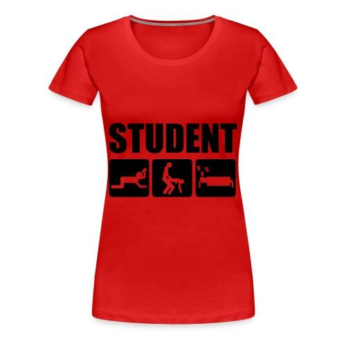 Student - Frauen Premium T-Shirt