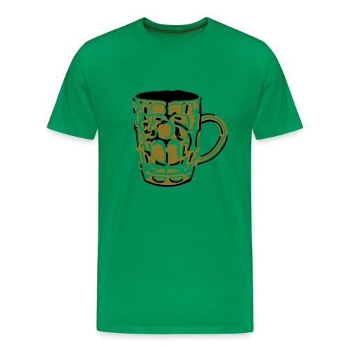 Real men drink real ale - Men's Premium T-Shirt