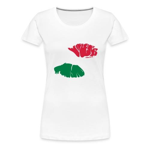 Italian Kiss - Women's Premium T-Shirt