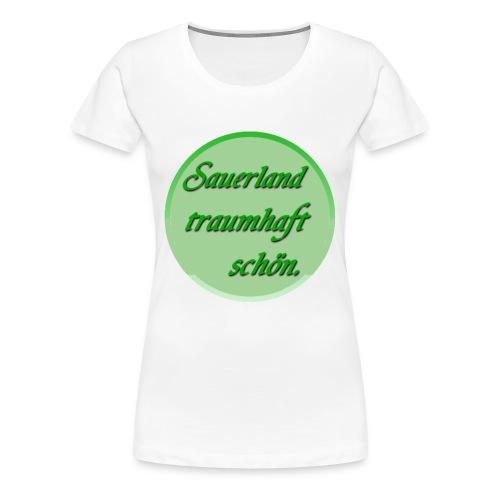 Sauerland Rundhals Shirt - Frauen Premium T-Shirt