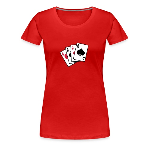4aces - Women's Premium T-Shirt