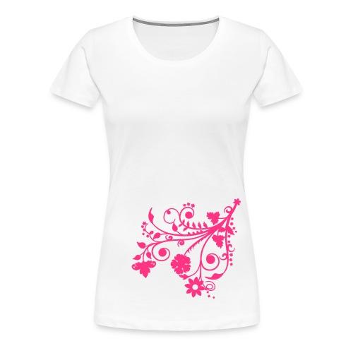 Flowers - Frauen Premium T-Shirt