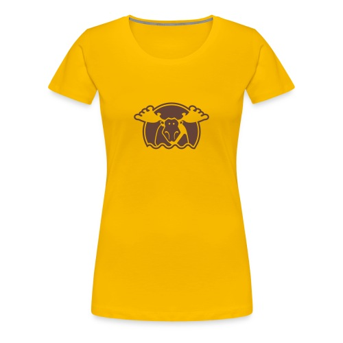 Elg - rosa - dame - Frauen Premium T-Shirt