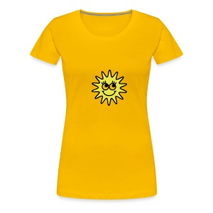 shirt baby zon - Vrouwen Premium T-shirt