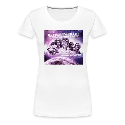 dubblestandart - perry - ari up - return from planet dub - Women's Premium T-Shirt