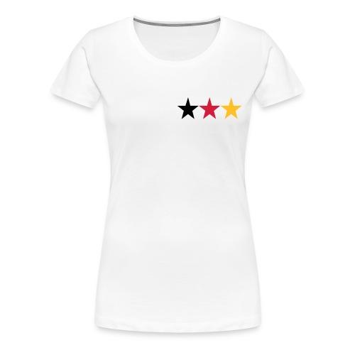 deutschland sterne - Frauen Premium T-Shirt