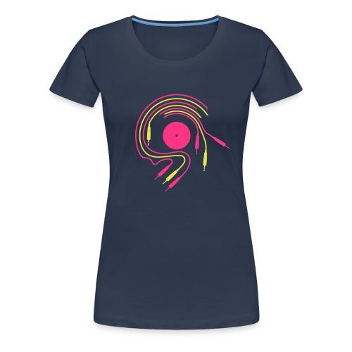Tee shirt Girl Elektro connexion - T-shirt Premium Femme