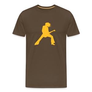 Mannen: Gitarist - Mannen Premium T-shirt