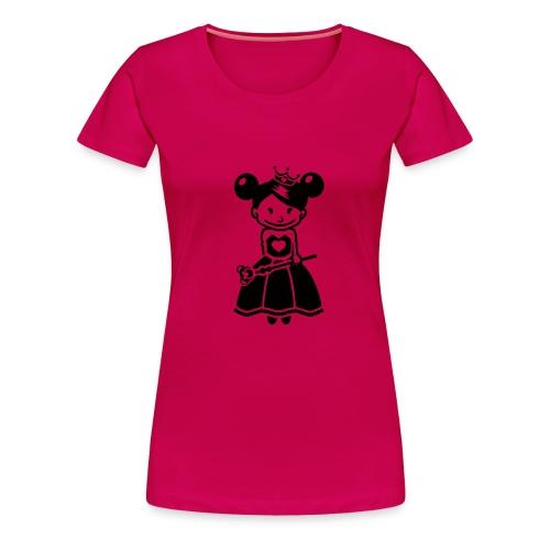 Bad princess - Frauen Premium T-Shirt