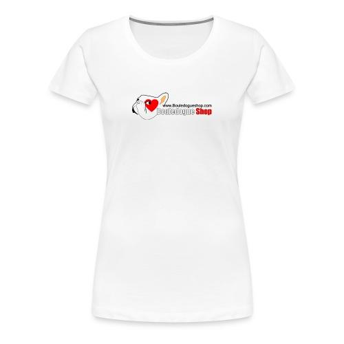 Logo Bouledogue Shop - T-shirt Premium Femme