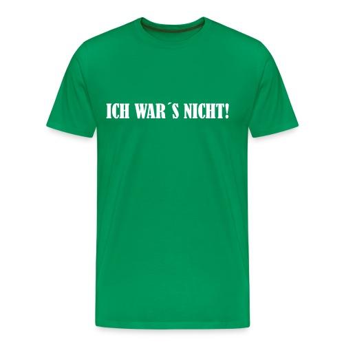 Ich war´s nicht! - Männer Premium T-Shirt