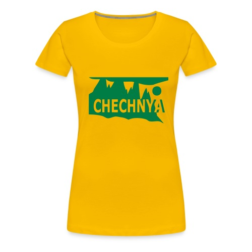 Chechnya Girl - Women's Premium T-Shirt