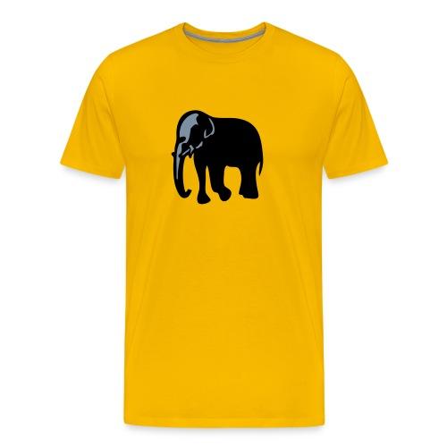 Indian Elephant - Men's Premium T-Shirt