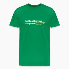 Grass green computer sex T-Shirt