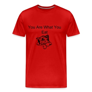 You are what you eat T-Shirt - Men's Premium T-Shirt