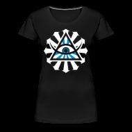 T-Shirts ~ Frauen Premium T-Shirt ~ Paniq 2009 T-Shirt (Feminine Blue)