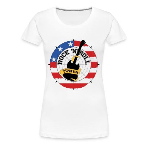 power - Premium-T-shirt dam