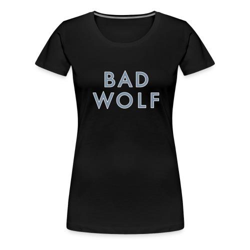 Bad Wolf grey/glow - Women's Premium T-Shirt