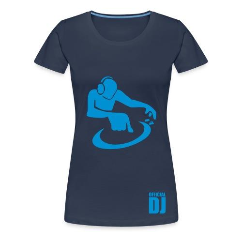 Official dj girl t-shirt - Women's Premium T-Shirt