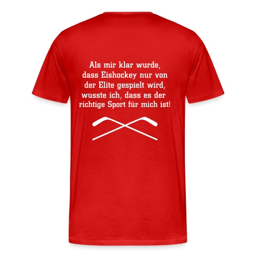 T-Shirt Elite-Sport (male) - Männer Premium T-Shirt