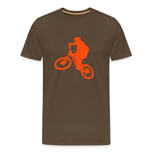 Freeride Brown/Orange - T-shirt Premium Homme