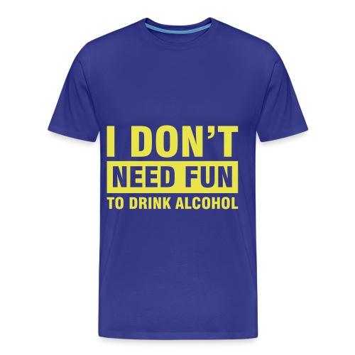 drink  t shirt - Men's Premium T-Shirt