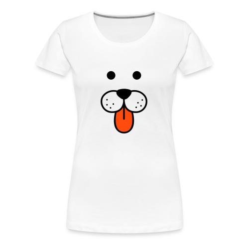 Naisten t-paita, kuono - Naisten premium t-paita
