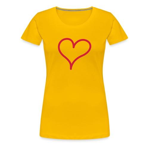 love !!! - T-shirt Premium Femme
