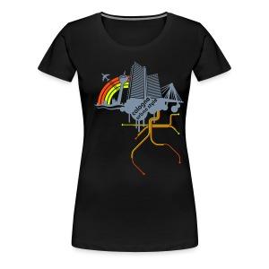 Cologne urban style - Frauen Premium T-Shirt