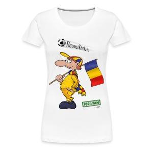 Fanshirt Romania - Frauen Premium T-Shirt