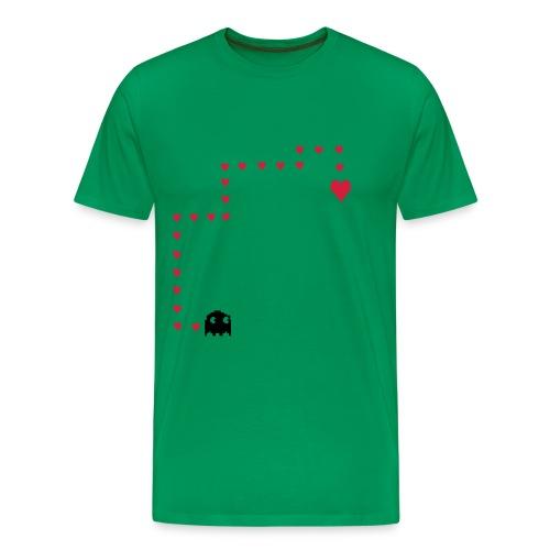 Hand auf`s Herz - Männer Premium T-Shirt